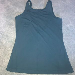Lululemon lowcut back dark tank top size 8